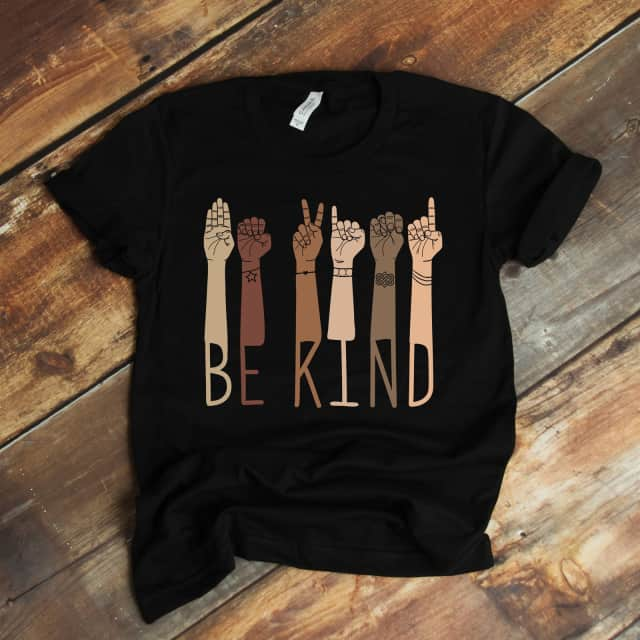 Be Kind Graphic Tee | 100% of Profits Donated