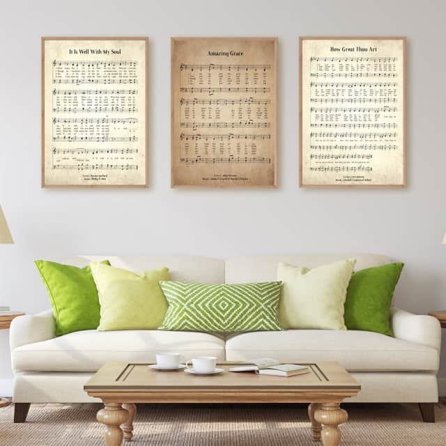 Marvelous Vintage Hymn Prints | 8 Sizes
