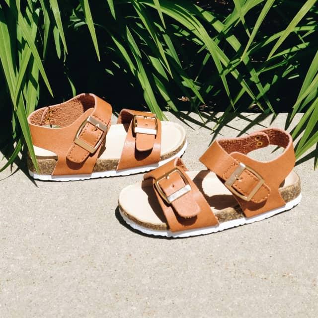 bb22f31c09 Little Girl Summer Sandals
