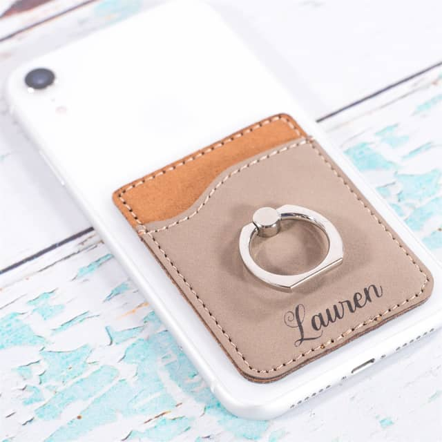 44f89a6b1fbf4 Personalized Phone Wallets | 10 Colors