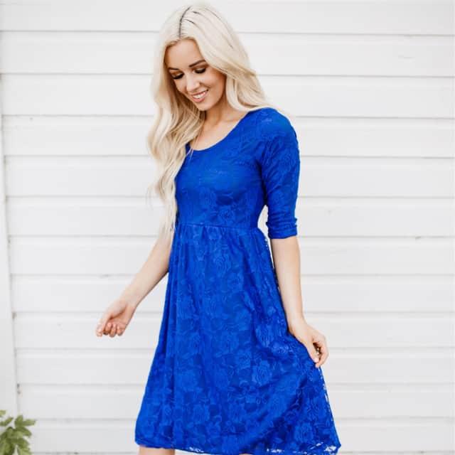 daeb8476f8eb Sweetheart Lace Dress