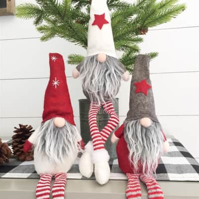Was $18.98 - Now $10.99 - Whimsical Christmas Gnomes (10/4 to 10/17)