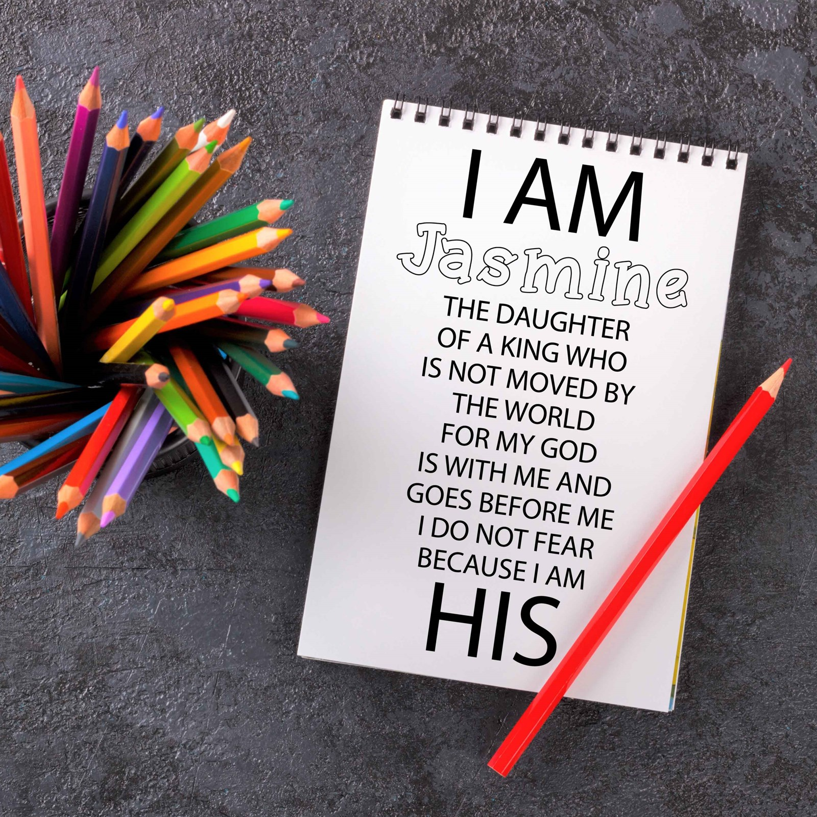 - Personalized Bible Verse Coloring Book Jane