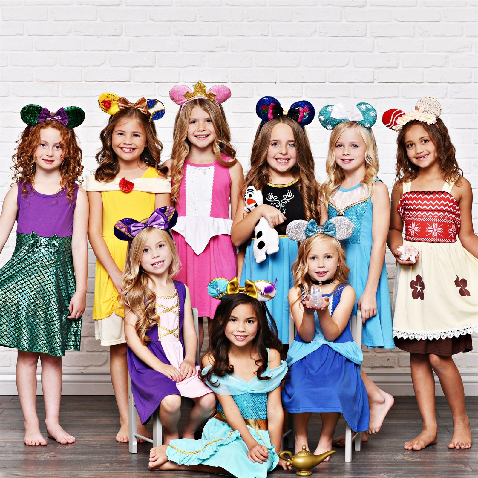 Girls Princess Inspired Dresses $13.99 Each