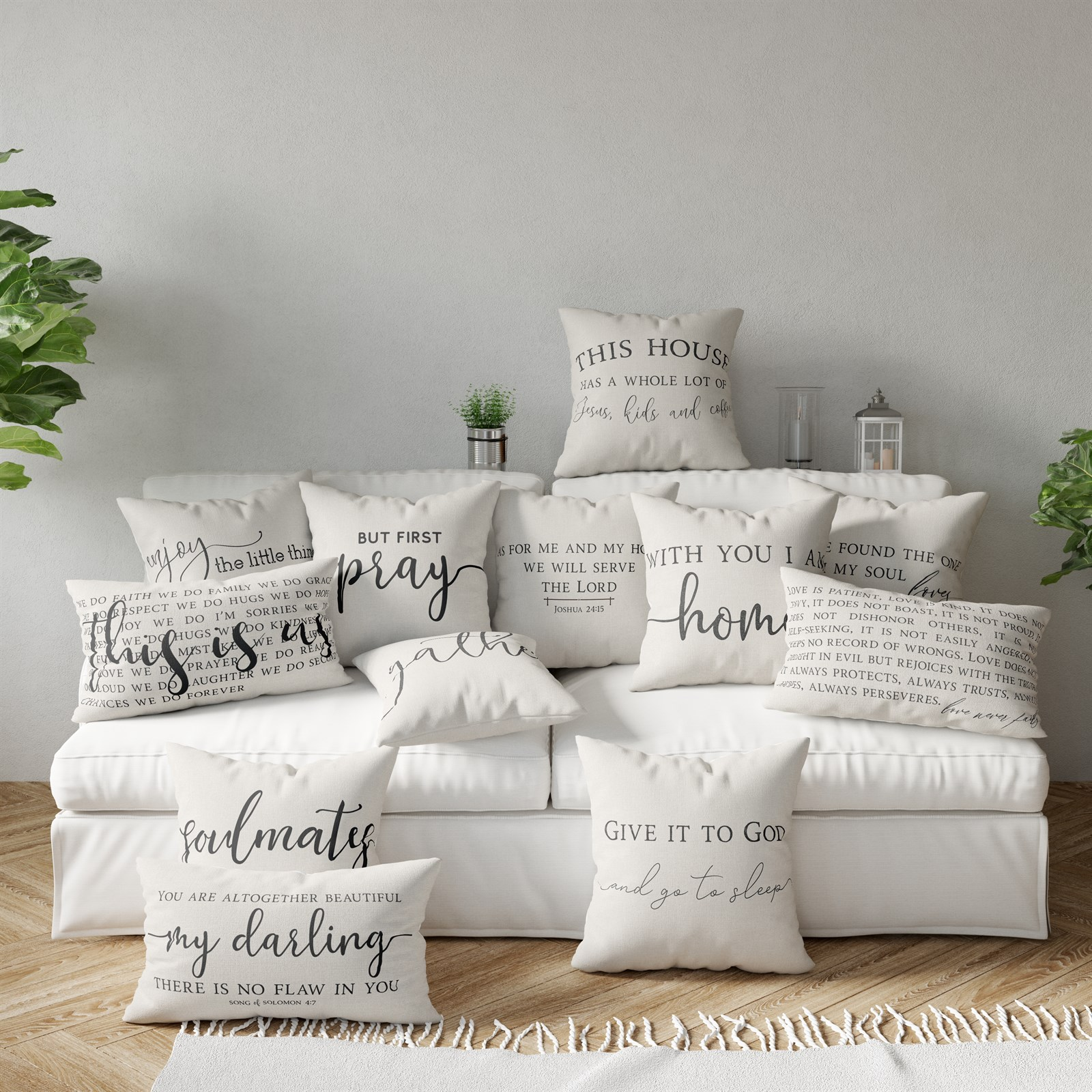 Classic Home Pillow Cover Collection
