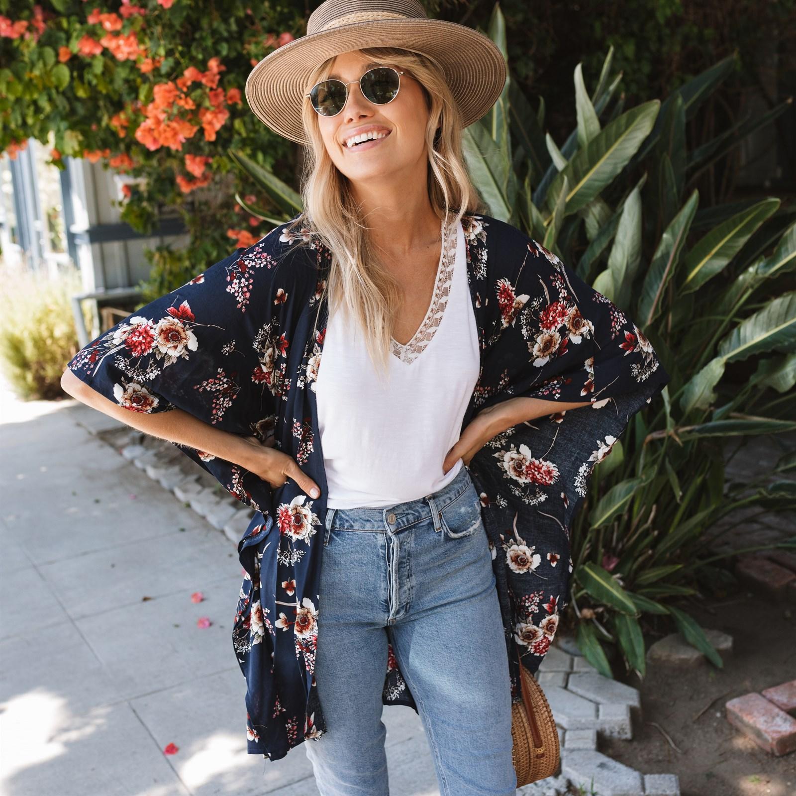 In Full Bloom Kimono