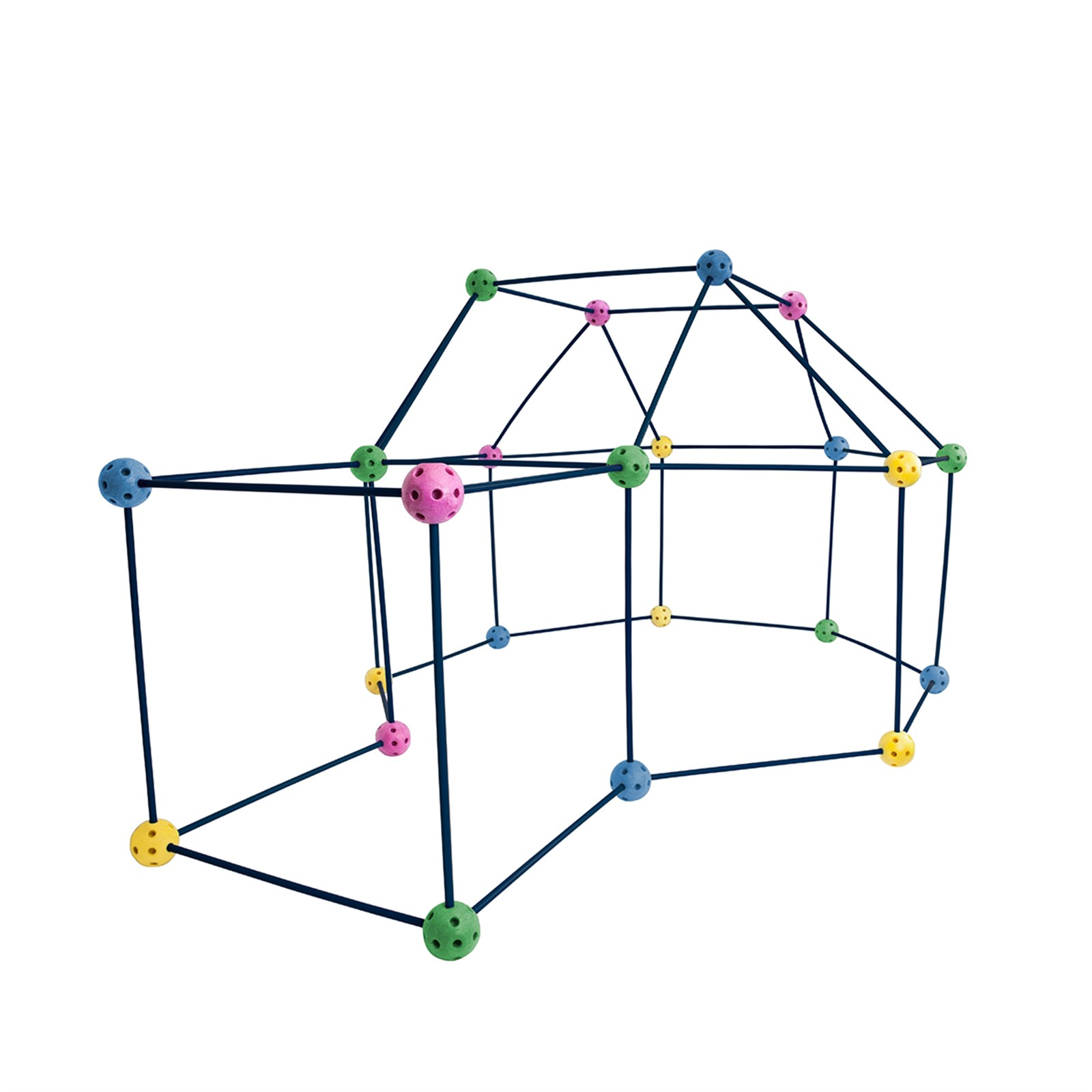 72 Piece Fort Building Kit $29.99 Shipped