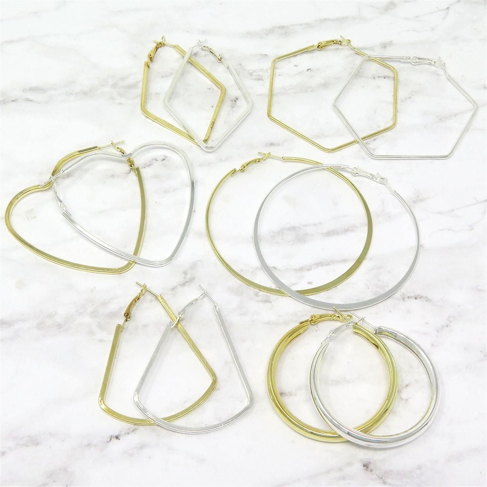 Wired Hoop Earrings