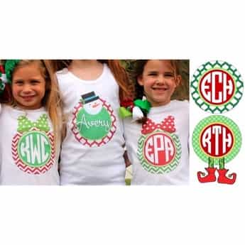 personalized christmas iron on transfers 21 designs