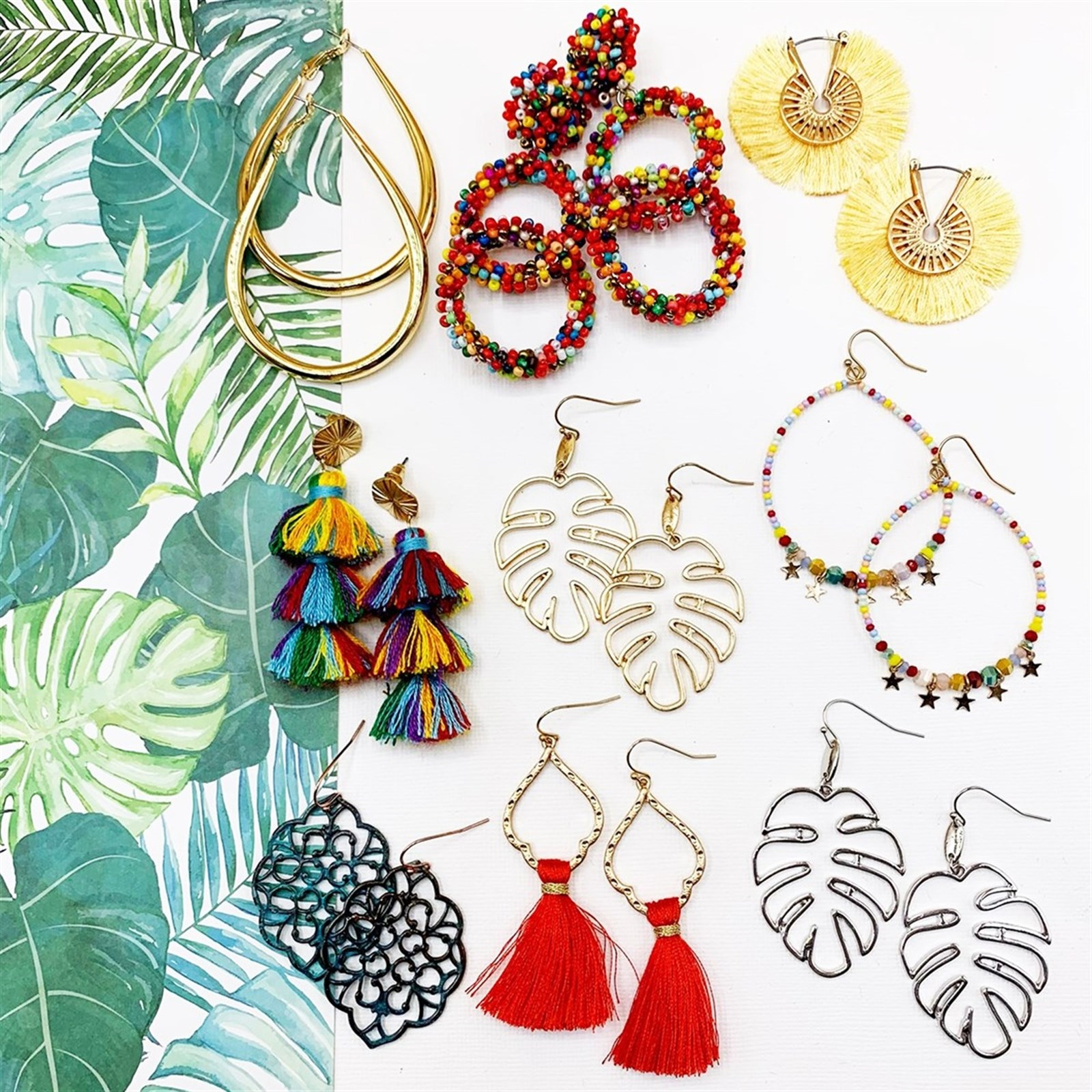 Jungle Bloom Earring Collection