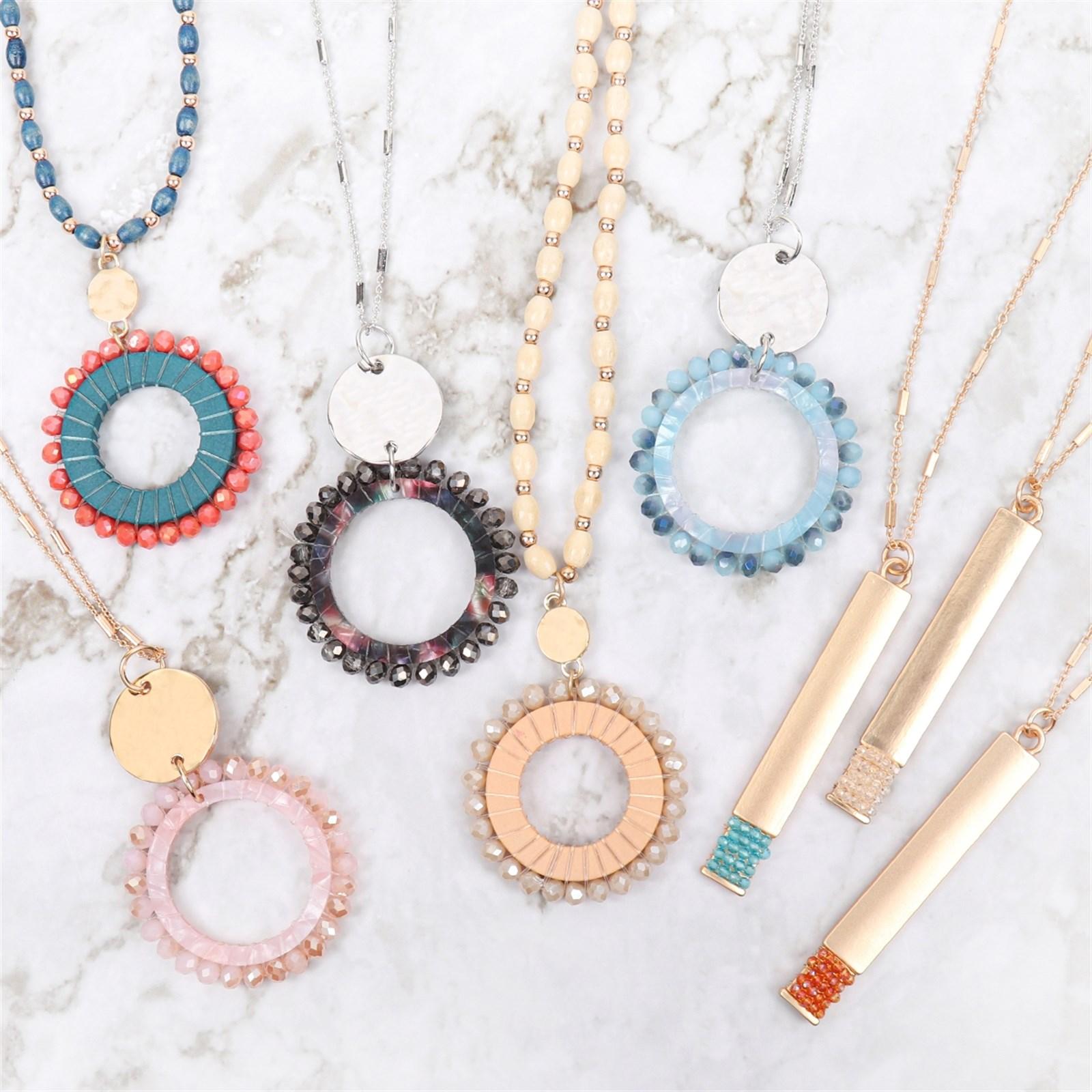 Bead Pendant Necklaces