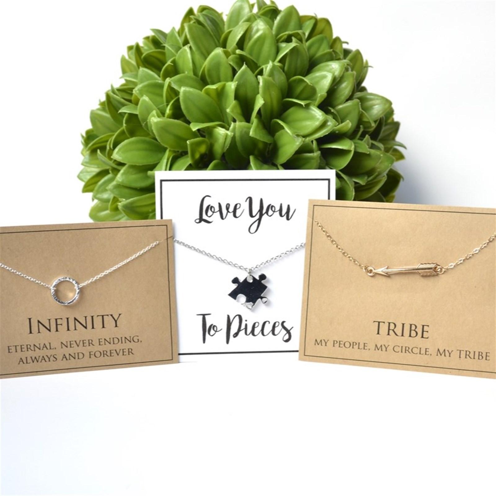 Inspirational Necklace & Card