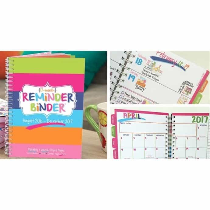 2016-2017 Reminder Binder® Planner