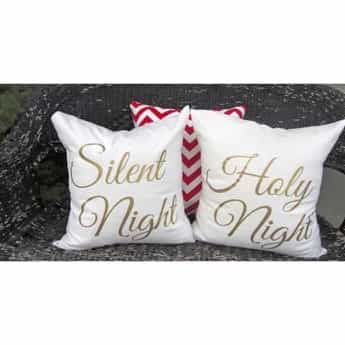 elegant christmas pillow covers 18x18
