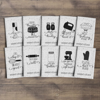 Delicieux Fun Kitchen Towels | Set Of 3