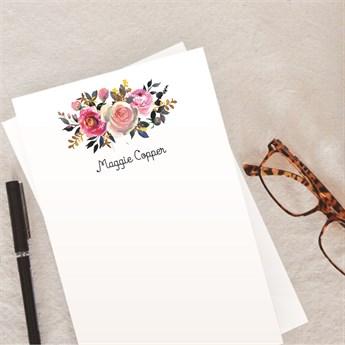 personalized stationery sets two 50 sheet pads jane