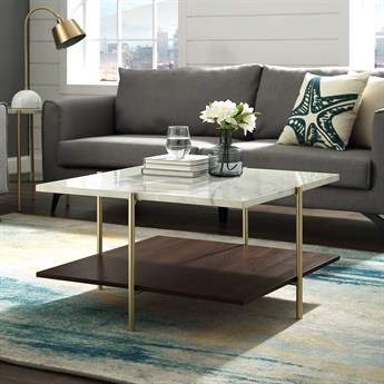 32 Inch Simone Square Coffee Table Free Shipping