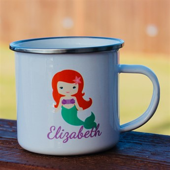 Personalized Kid's Enamel Mugs