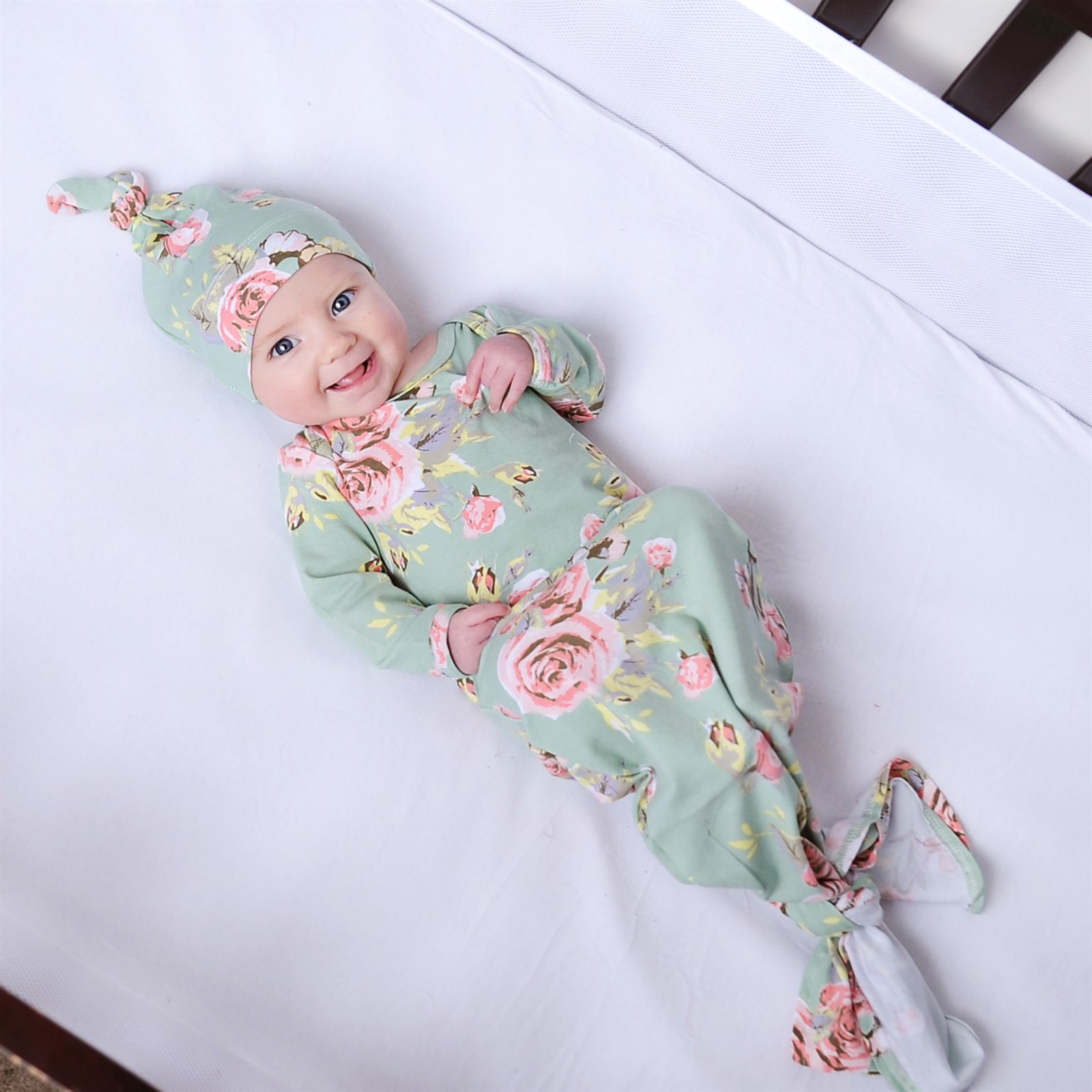 5e6b36aca2991 Knotted Newborn Gown and Hats
