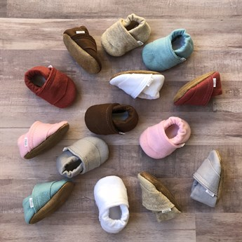 Handmade Soft Sole Baby Moccasins