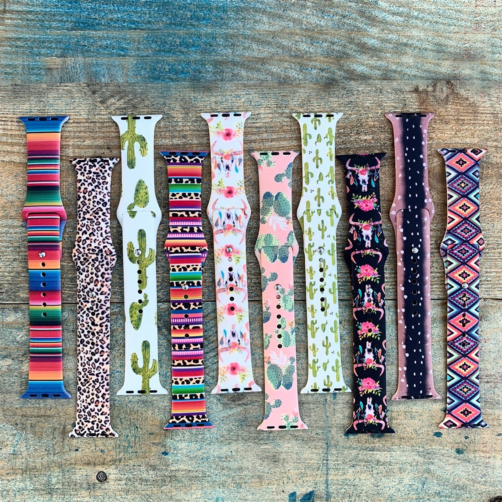 Patterned Apple Watch Bands / 34 Styles Only $10.99