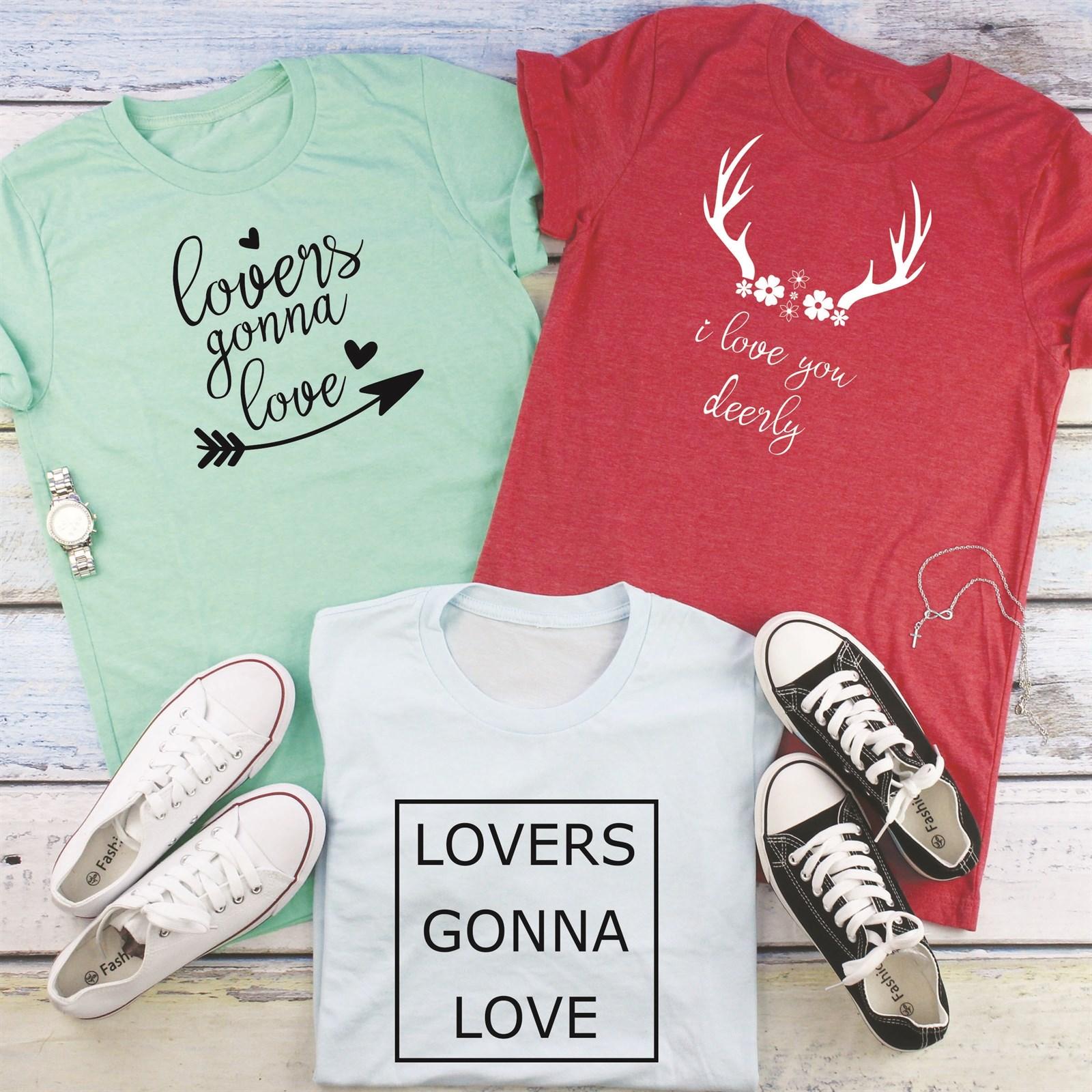 Valentine Tees and Long Sleeves / 8 Designs