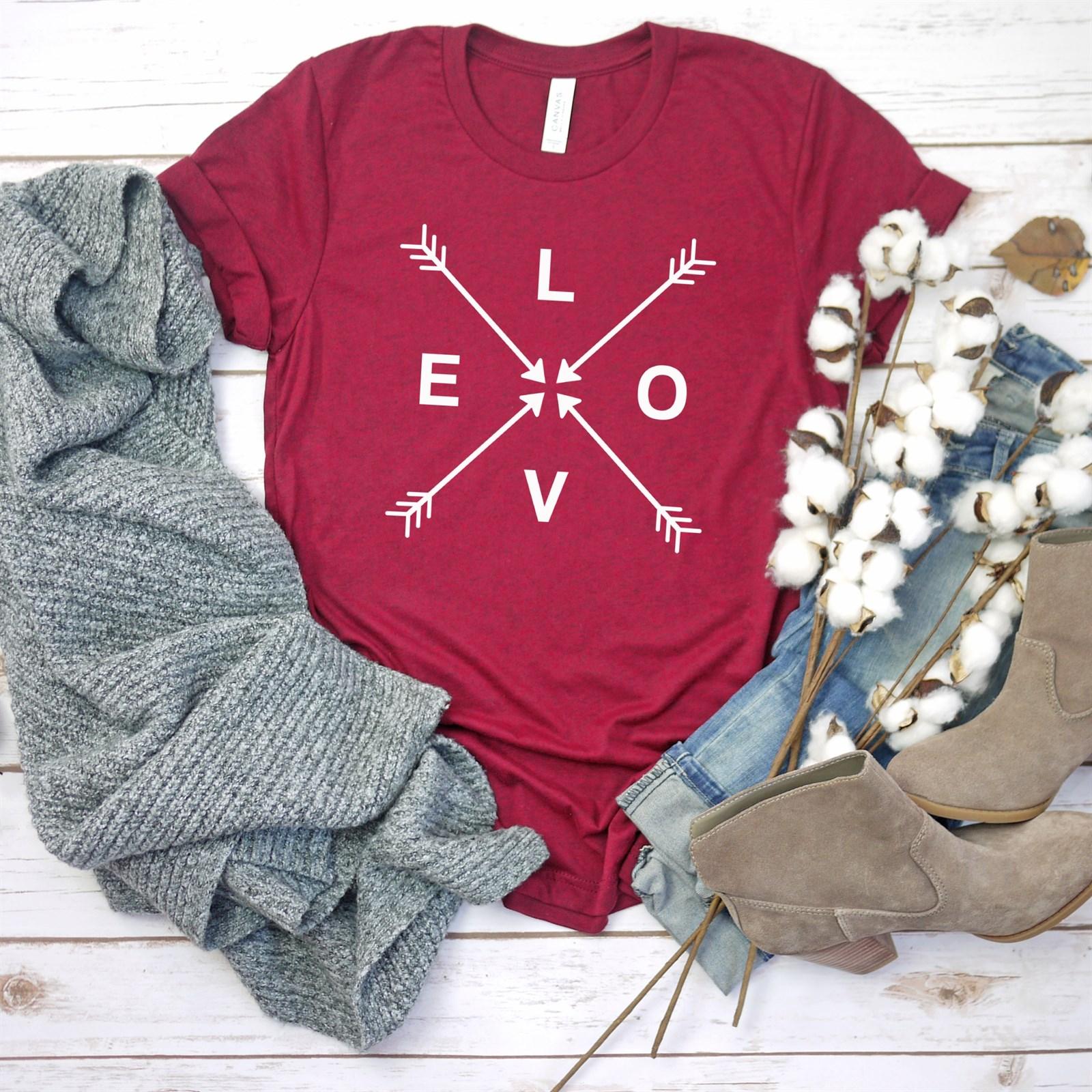Sweet Valentine Tees / 3 Designs