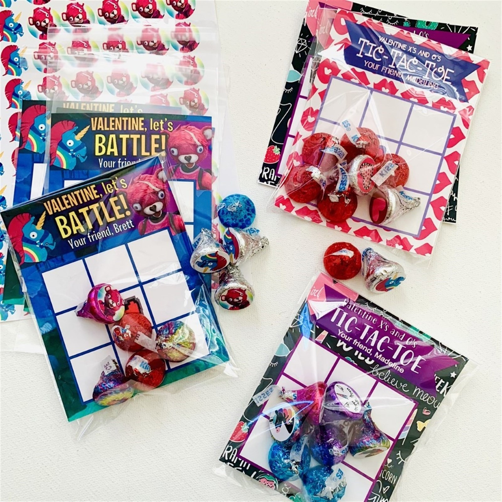 Personalized Tic Tac Toe Sets Only $4.95