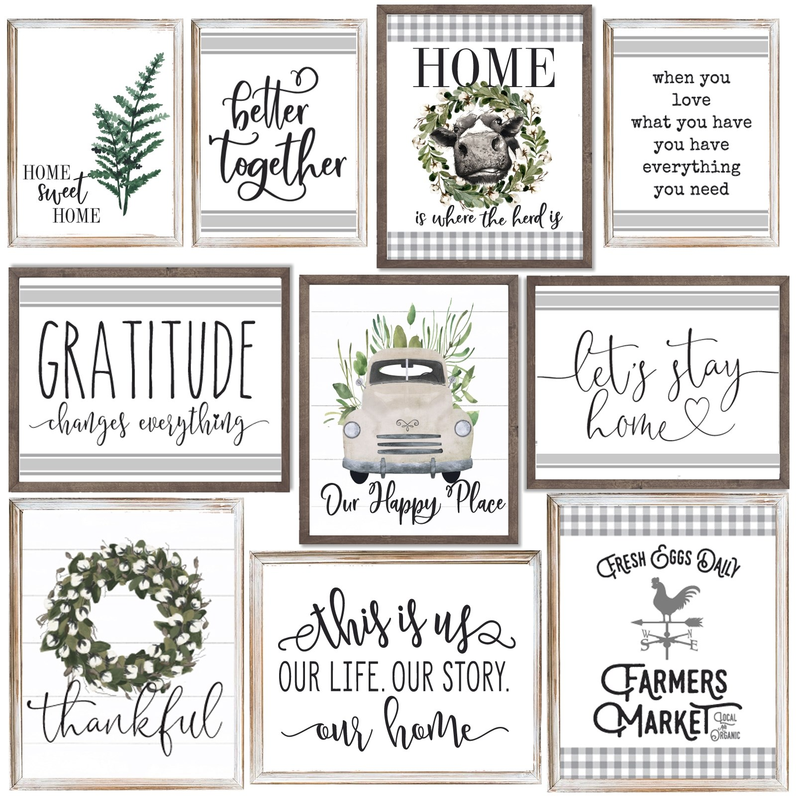 Large Homebody Prints / 6 Styles, 3 Sizes Only $4.99 (Was $22)