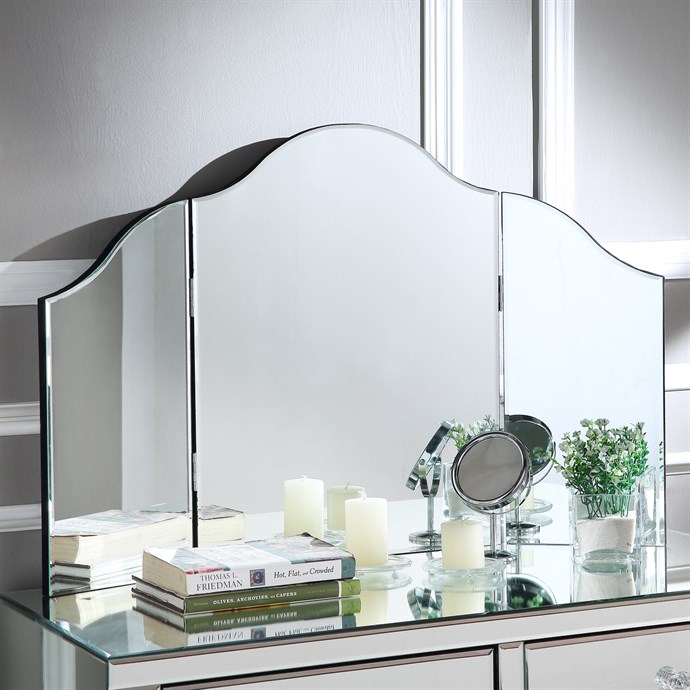 Tabletop Folding Vanity Mirror Only $49.99 w/ Free Shipping