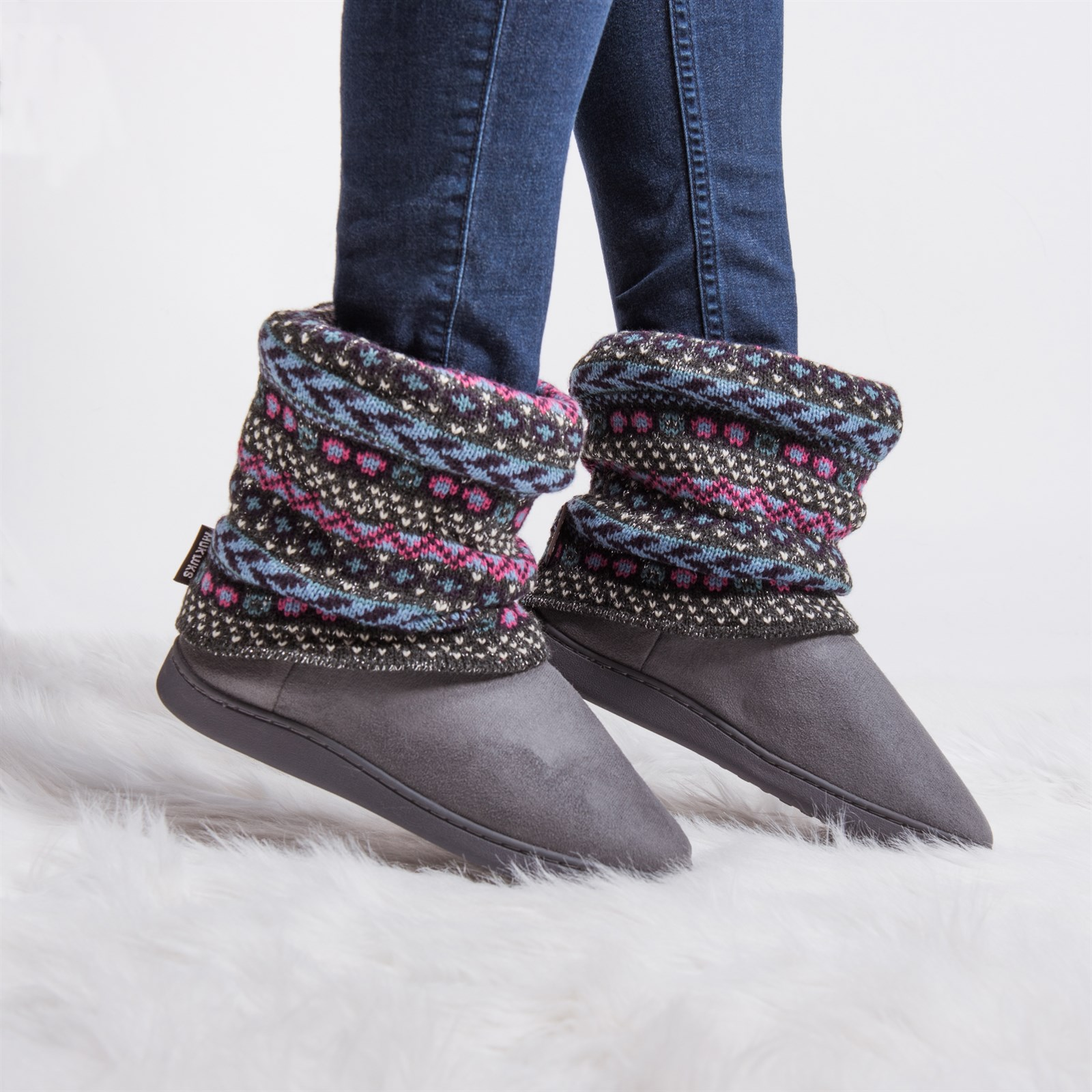 MUK LUKS Raquel Slippers + Free Shipping Only $16.99
