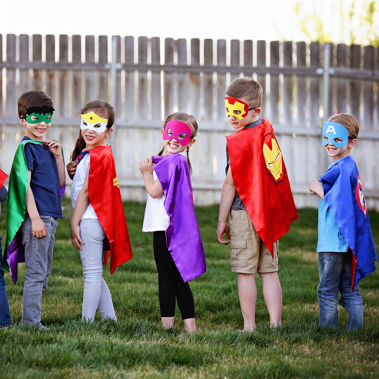 Character Cape & Mask Sets Only $8.99 w / Free Shipping