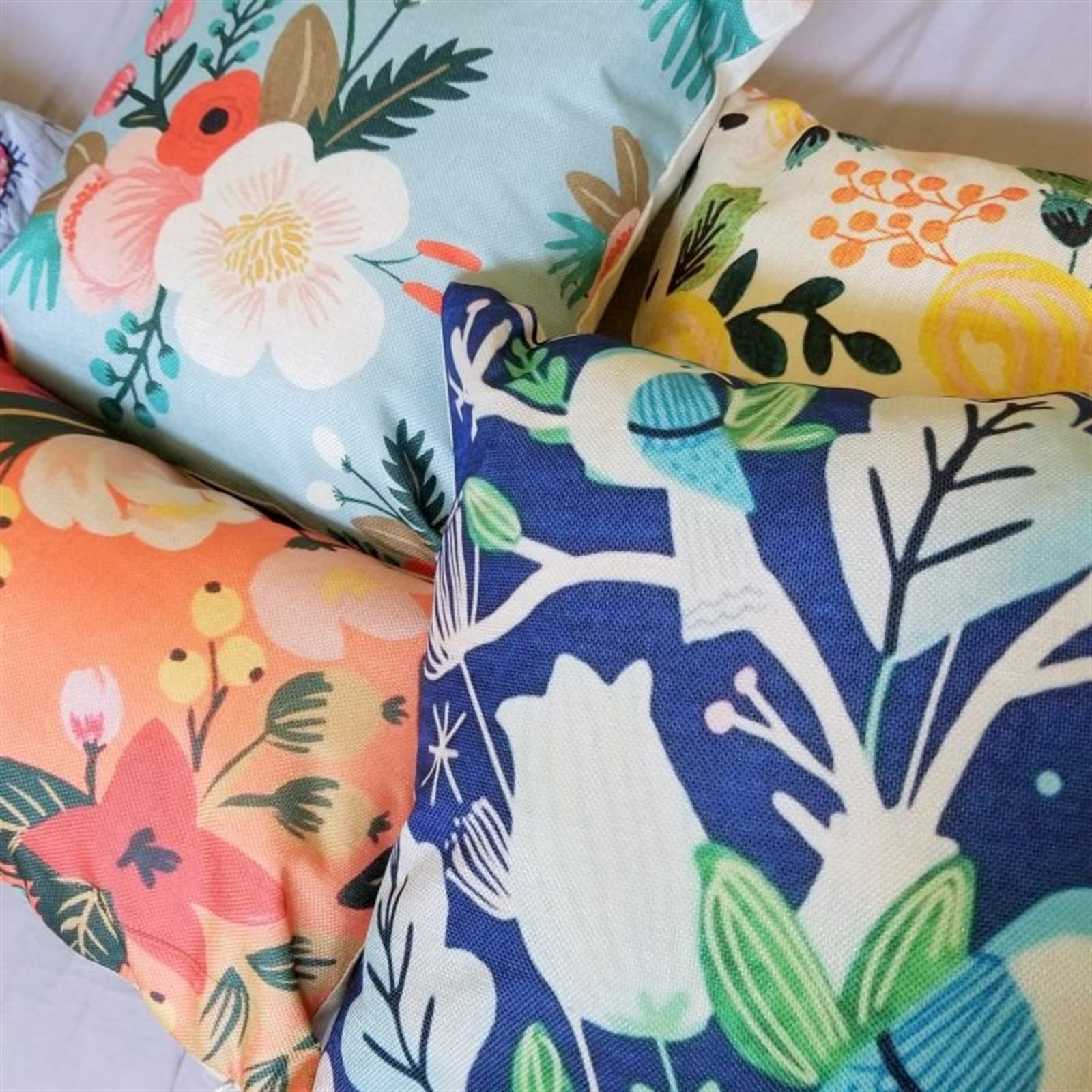 Floral Style Pillow Covers Only $8.99 w/ Free Shipping