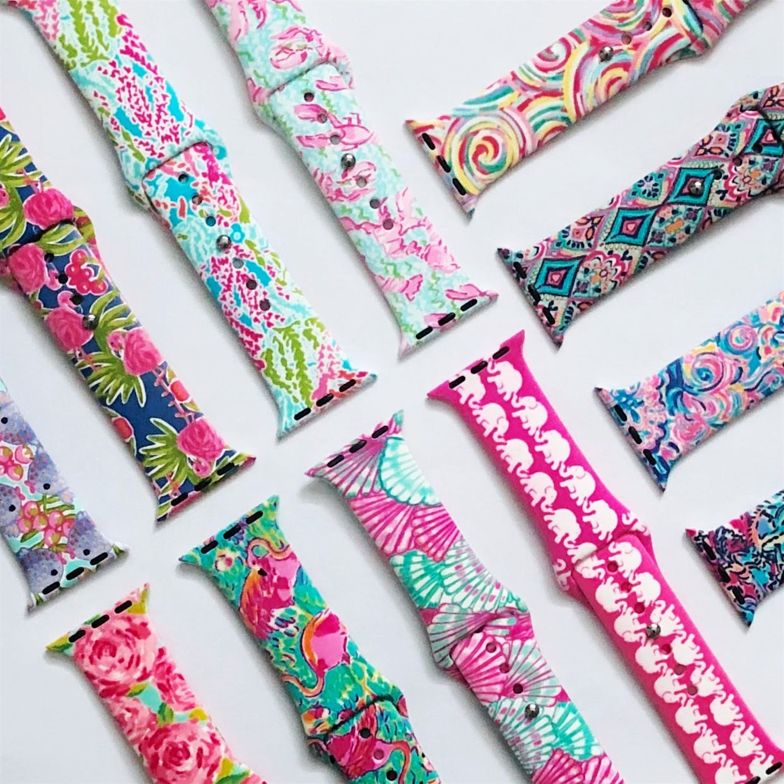 Patterned Apple Watch Bands