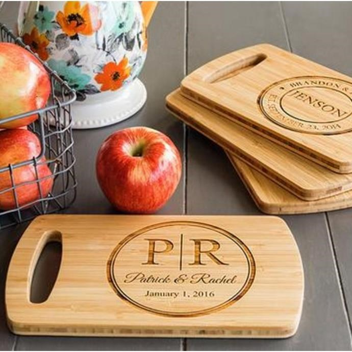 Monogrammed Cutting Board Only $11.99 w/ Free Shipping