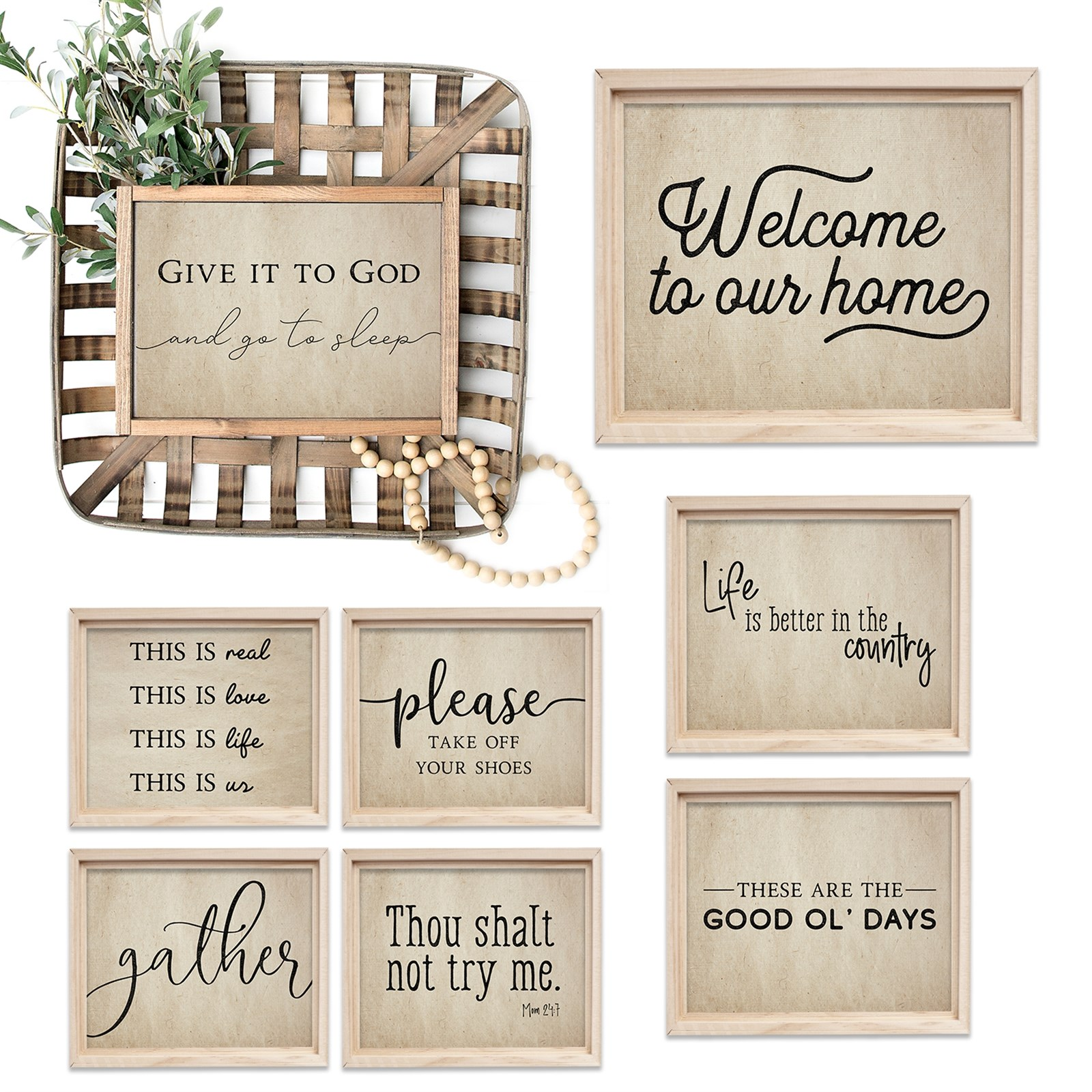 Welcome Home Prints | 6 Sizes