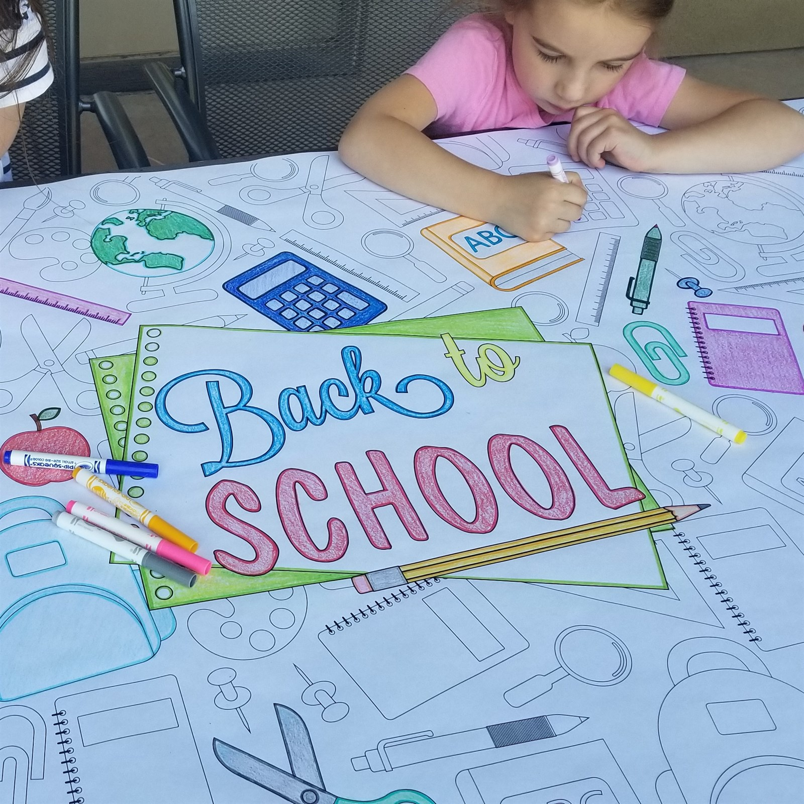 Coloring Banners