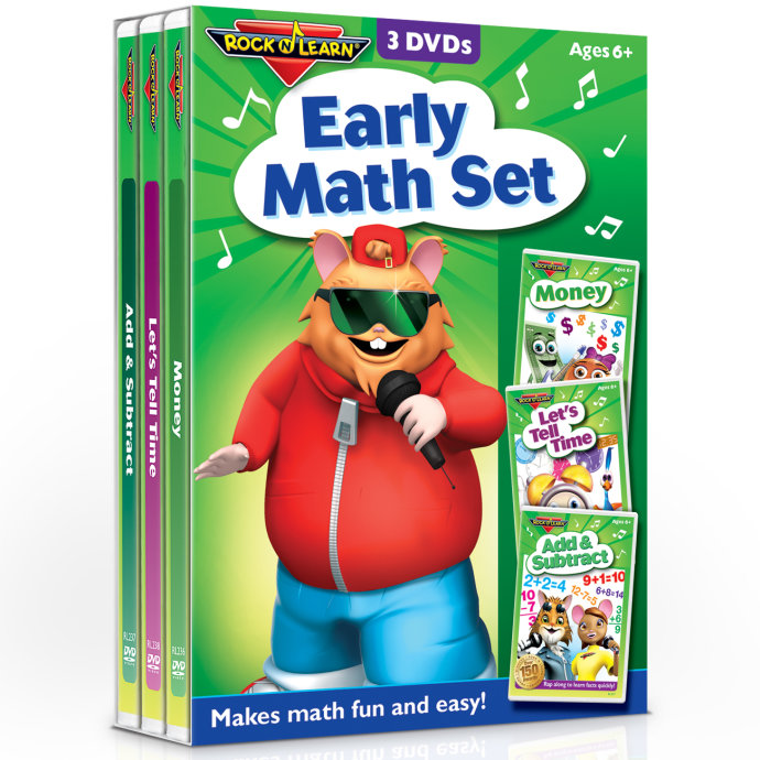 Early Math 3-DVD Set Only $14.99 w/ Free Shipping