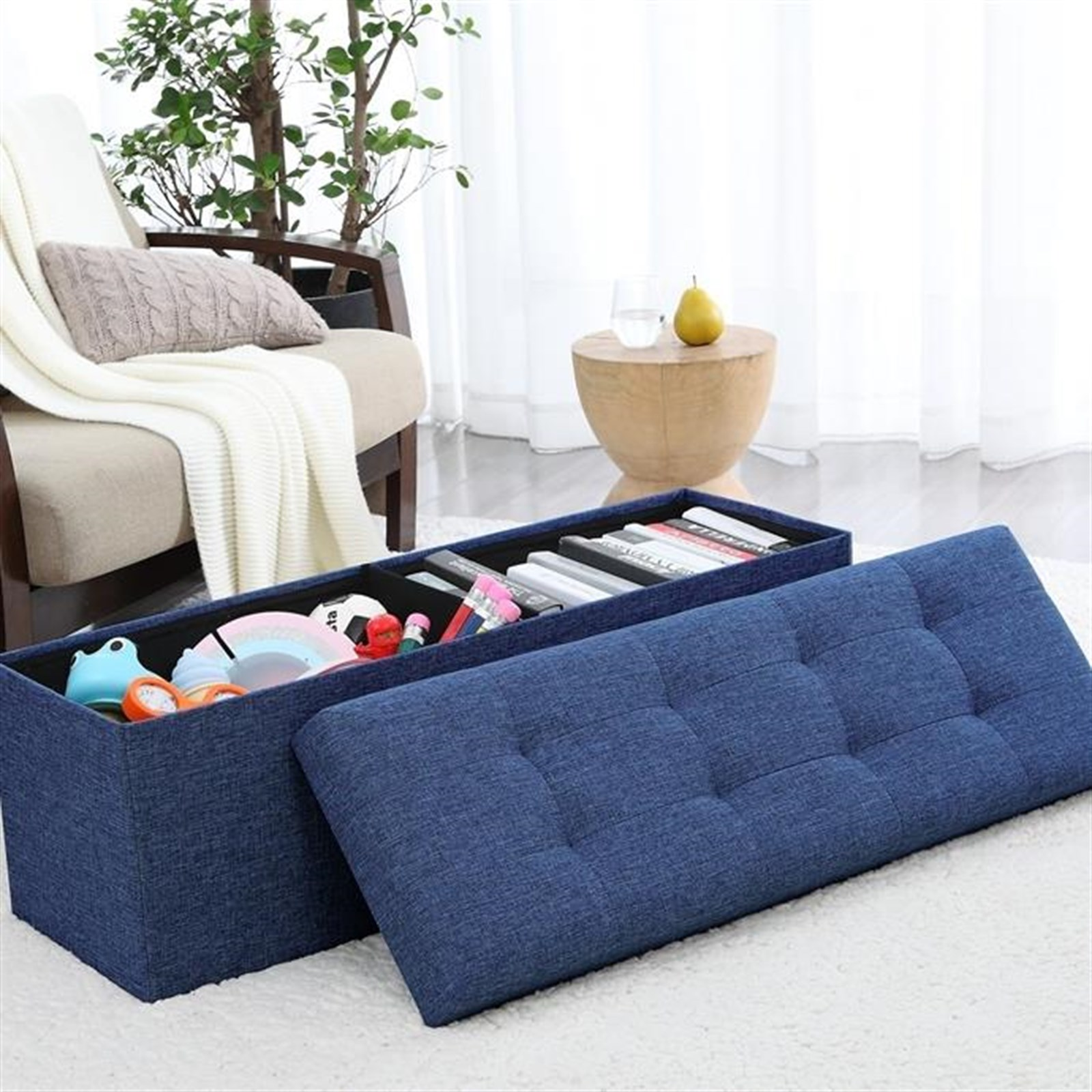 Fine Tufted Storage Ottoman Only 49 99 Shipped Reg 129 99 Gmtry Best Dining Table And Chair Ideas Images Gmtryco