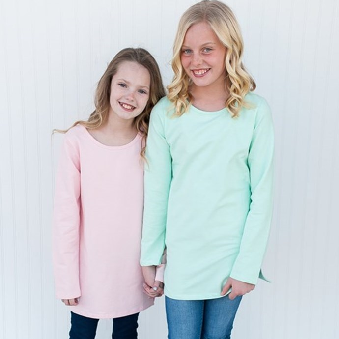 Kids Basic Tunics Only $7.99 w/ Free Shipping