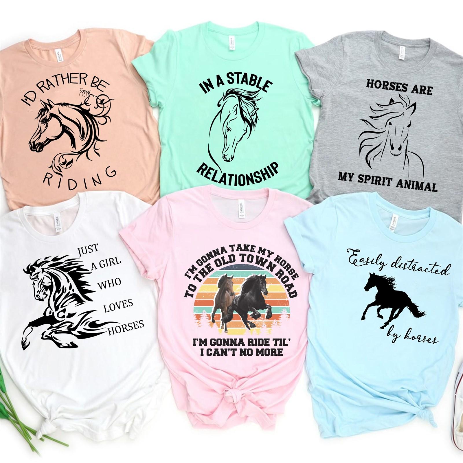 13dee3ab61ff7 Love Of Horses Tees