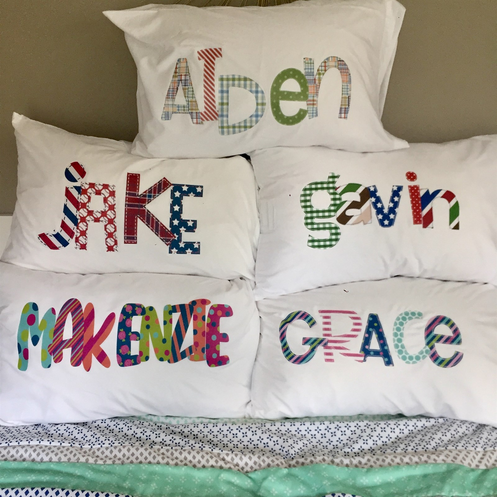 Personalized Pillowcases Only $17.99 w/ Free Shipping