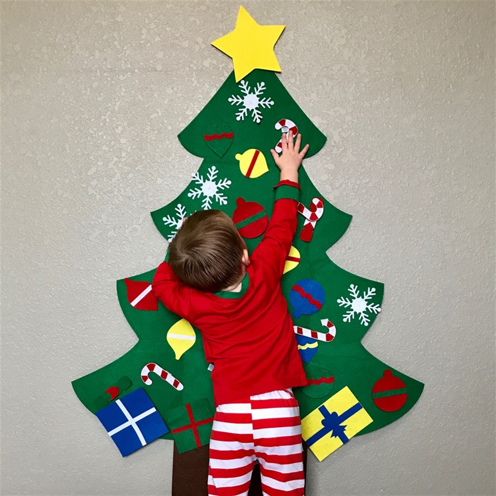 Kids Decorative Felt Tree