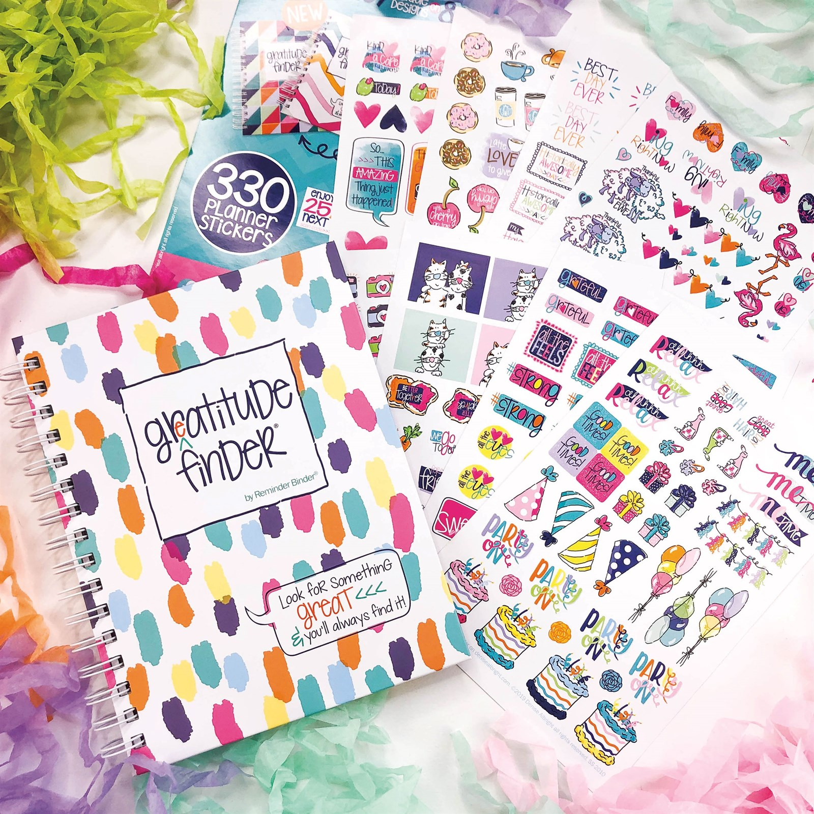 Gratitude Gift Set Including Journal + Stickers Only $14.95 w/ Free Shipping (Was $25)