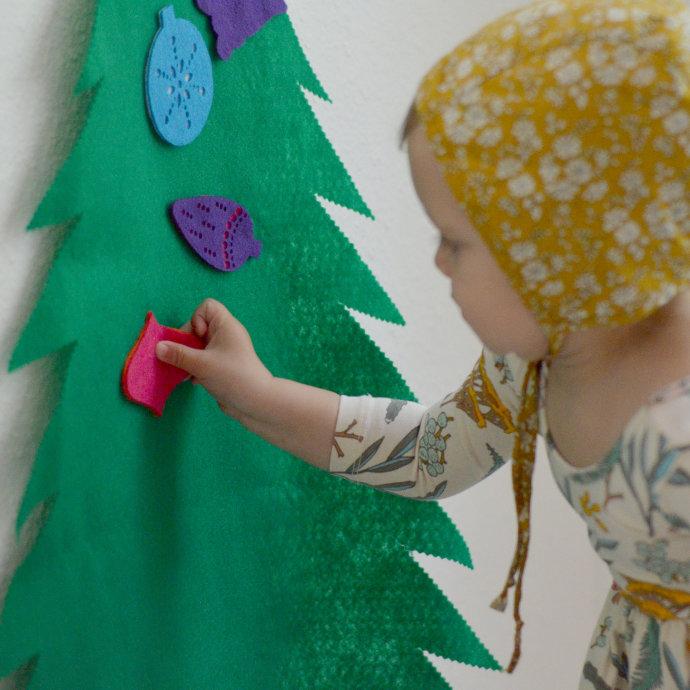 Kids Felt Christmas Tree Only $18.99 w/ Free Shipping