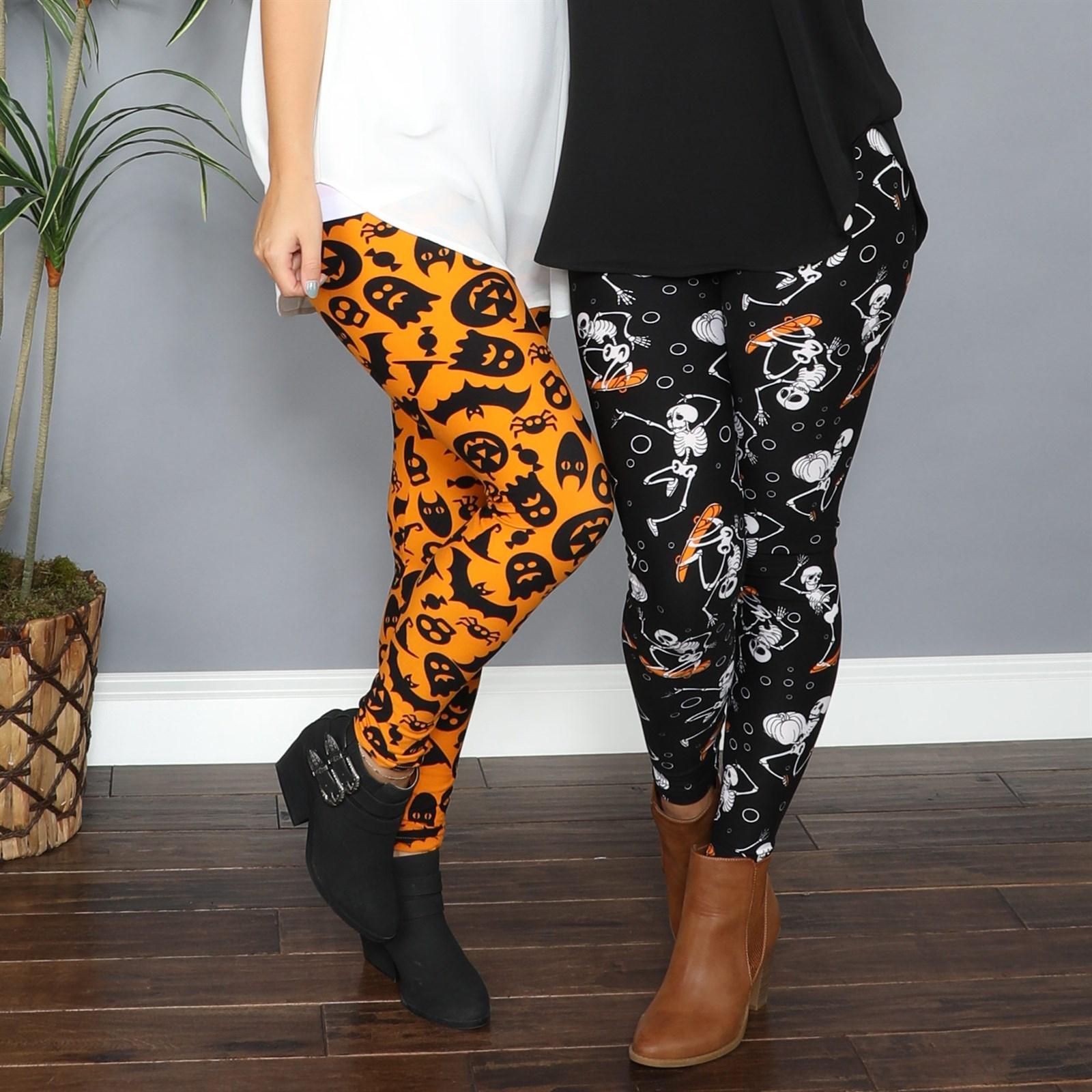 So Soft Halloween Leggings / 2 Sizes