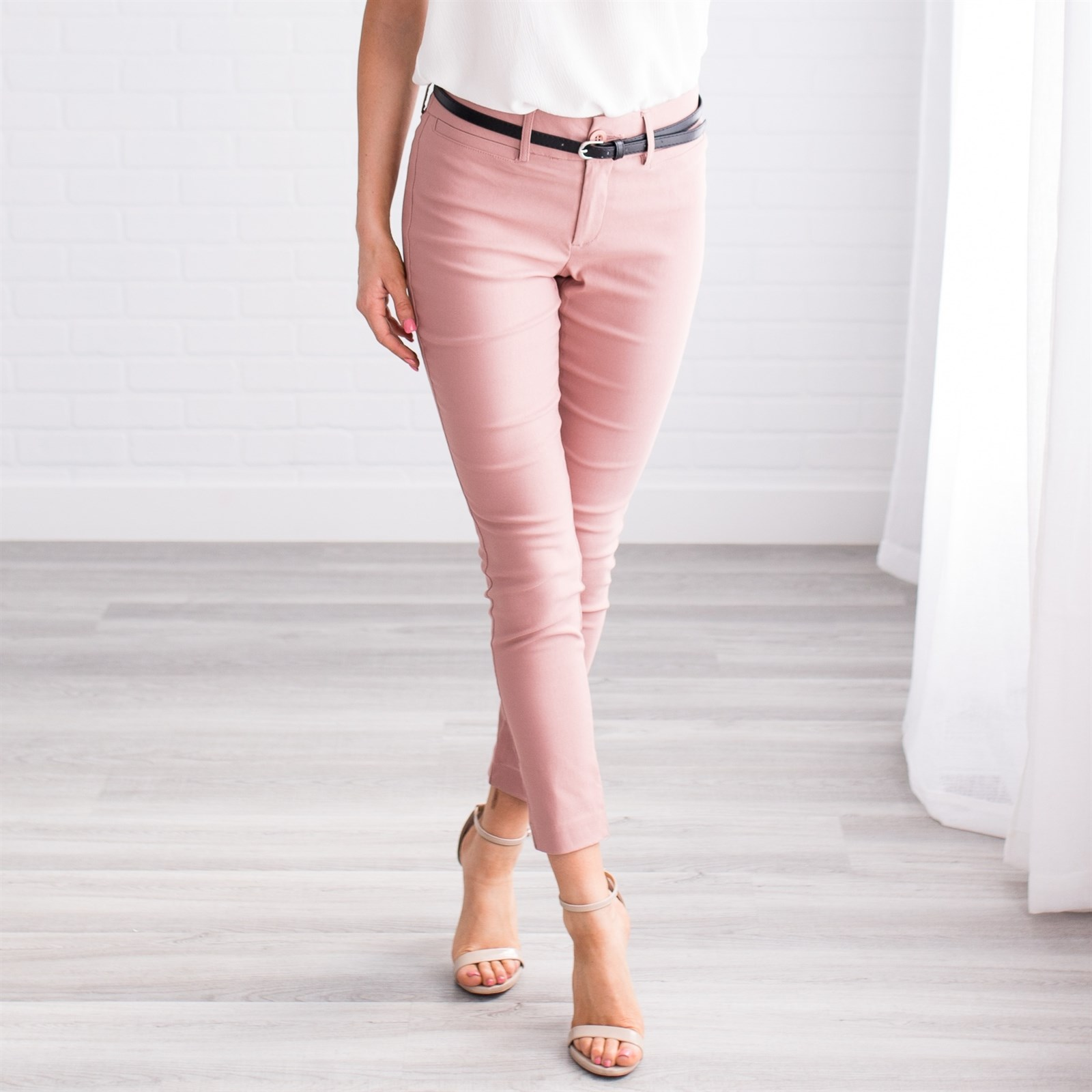 Women's Essential Work Pants Now $19.99 w/ Free Shipping
