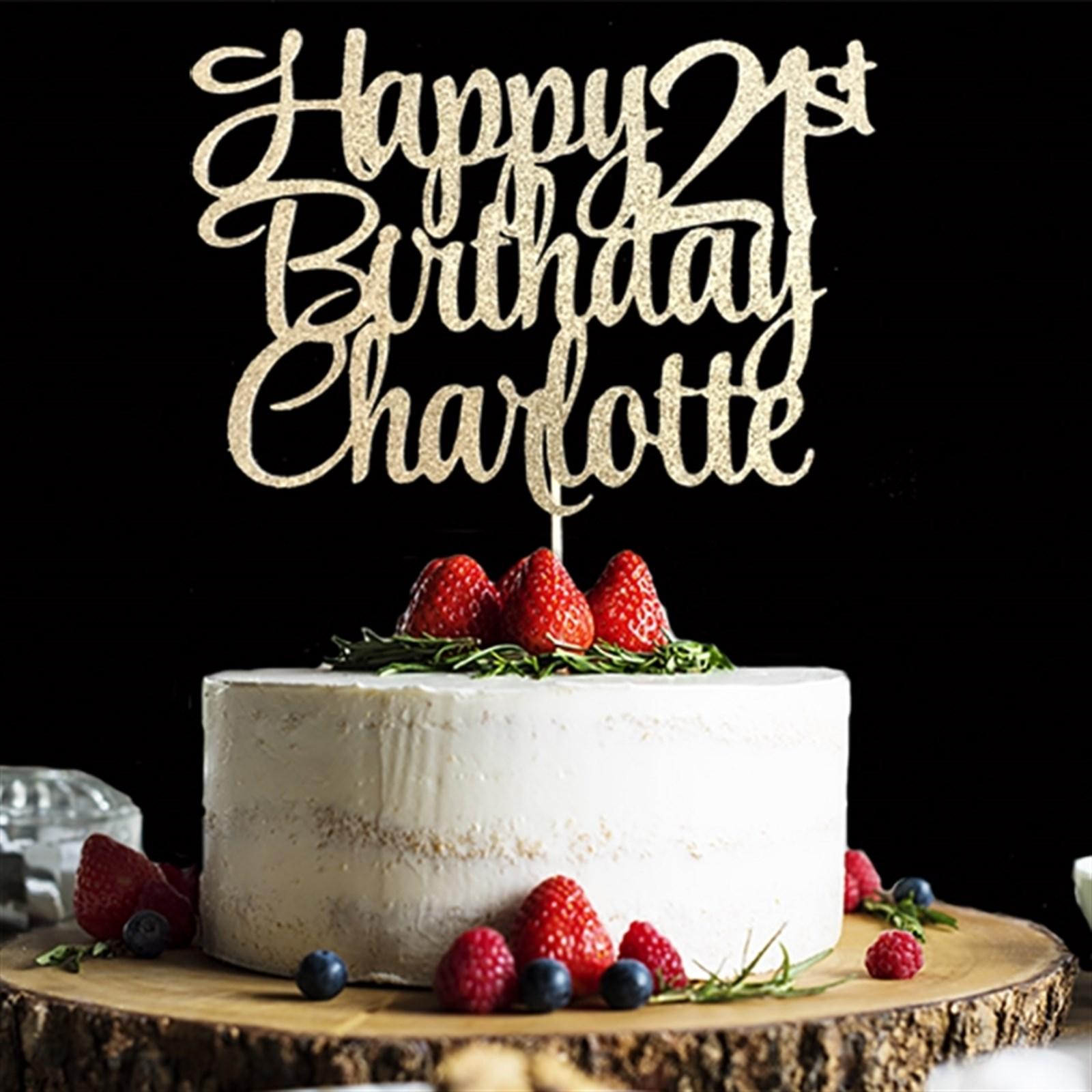 Outstanding Custom Birthday Cake Topper Jane Birthday Cards Printable Giouspongecafe Filternl