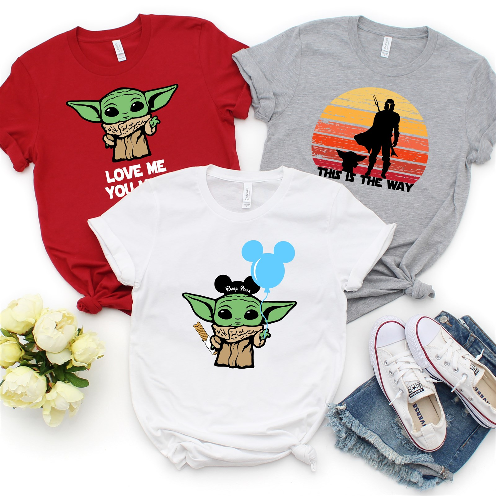 Baby Yoda Shirts Only $14.99 w/ Free Shipping